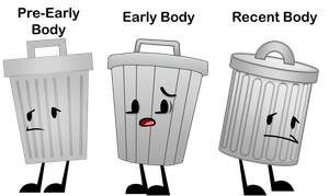 What Version of Trash Can Do You Like? by Piggy-Ham-Bacon