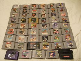 Me N64 game Collection by EUAN-THE-ECHIDHOG