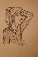 Daily doodle 7/14/15 by Marlin-Rae