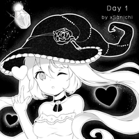 Inktober Day 1 by xSanichi