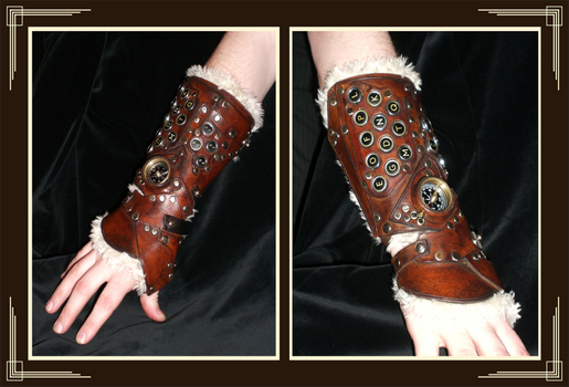 New Steampunk Computer Cuff 2 by Isinglass-Industries