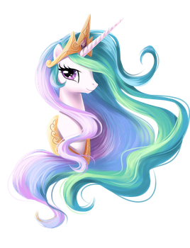 Celestia Portrait by fantazyme