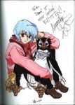 Rei signed by Ari-Spike-Nadelman