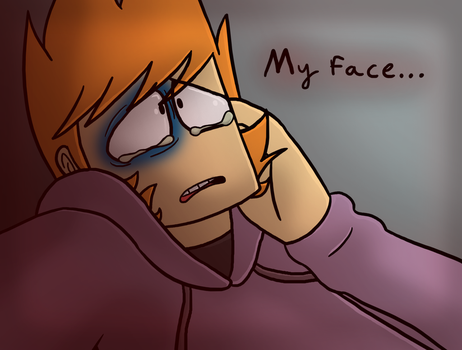 My face... by Cougar200