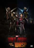 Ant-man and the Wasp by hemison