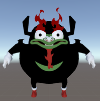 VRChat - Aku (Knuckles) by Jagent-7
