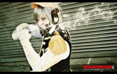 MGS4 Raiden Cosplay The Lightning by Moin2D