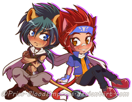 BeyMF::. Chibi Wild Love by Priss-BloodEmpress