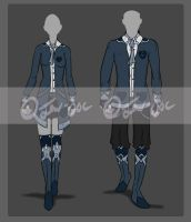 Male and Female Design Set [CLOSED] by JxW-SpiralofChaos