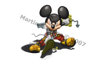 KHII - King Mickey by Ronoa