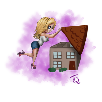 Sara's House by TeaQuill by Detective-Barricade