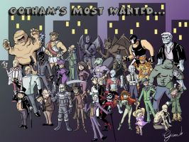 Gotham's Most Wanted by Card-Queen