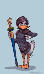 Day 20: Rival Duck by emily-lorange