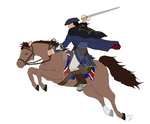 Haytham Kenway charges (WIP) by Countess-Nynke
