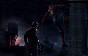 Spider-man Daredevil MCU Crossover Concept by BIGBMH