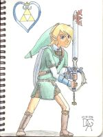 Kingdom Hearts Link by XanderVJ