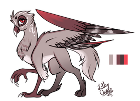 [COMMISH] Griffon mom custom by glitteronin
