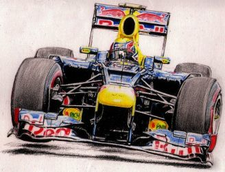 Mark Webber by Galbatore