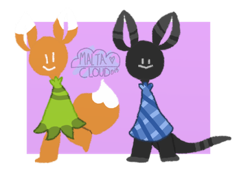 Kleider-Monsters - Adopts 4 (FlatSale)- Closed by MaltaCloud