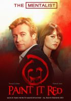The Mentalist - Paint it red - Poster by artistamroashry