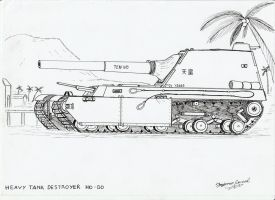 Heavy Tank Destroyer Y2605 Ho-Go by StubbornEmil