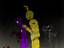 My name is Springtrap FNAF 3 by Nakimasen