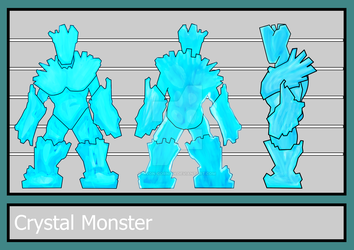 Crystal Monster (3 point View) by Avon-Cornish