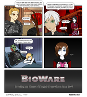 Bioware: Forever Alone by gambitismylover
