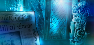 Reading Daily Prophet in Hogwarts by sachiko2189