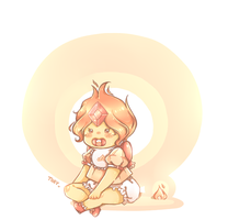 Baby Flame Princess by 12byo
