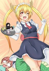 Dragon Maid- Tohru is always happy to assist you!! by HaruBlossom