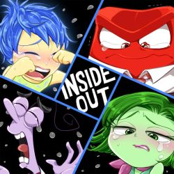 INSIDE OUT! -sadness- by hentaib2319
