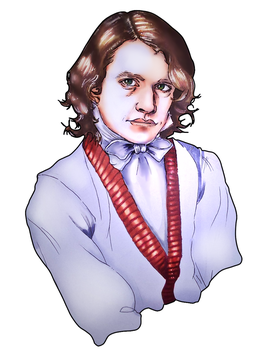 David Copperfield (Will Graham) Portrait. by kyuubi-overrated