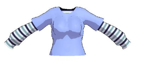 MMD- Layerd shirt- DL by MMDFakewings18