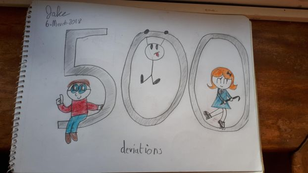 500 Deviations by jakelsm
