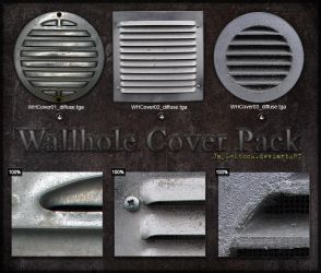 Wallhole Cover Pack by JayL-stock