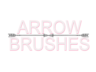 + ARROW BRUSHES + by kiweeresxources