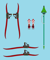 RWBY BANA Weapons by RyuRyugami