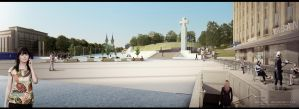 Freedom Square 02 3D VISUALIZATION by gravier25