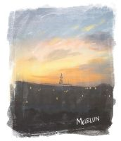 Painterly Tower by mclelun