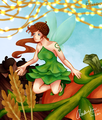 Fallon - Harvest Fairy by amiriteC