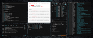 [bspwm] [arch] may 2016 by f-s0ciety