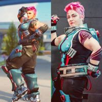 Overwatch Zarya Cosplay by Mistiqarts