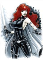 Mara Jade Skywalker by PatrickFinch