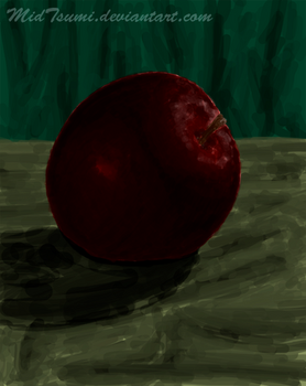 Red Apple by MidTsumi