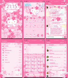 Hello Kitty Sakura for Samsung Theme Store by LadyPinkilicious