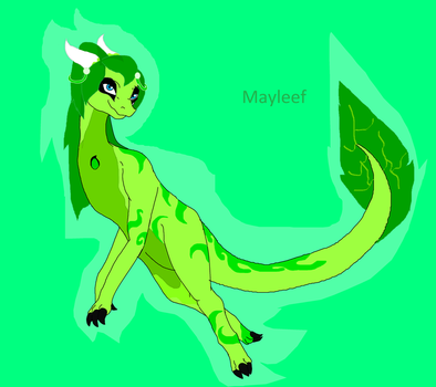 Mayleef~ by Coolterra342