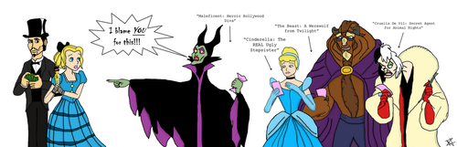 Maleficent 2014: Pink Slips (Outdated) by ZoraCatone