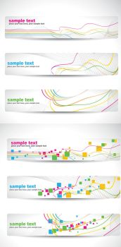dynamic lines Banner Background by vectorbackgrounds