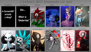 Summary of Art - 2017 by Aviriie
